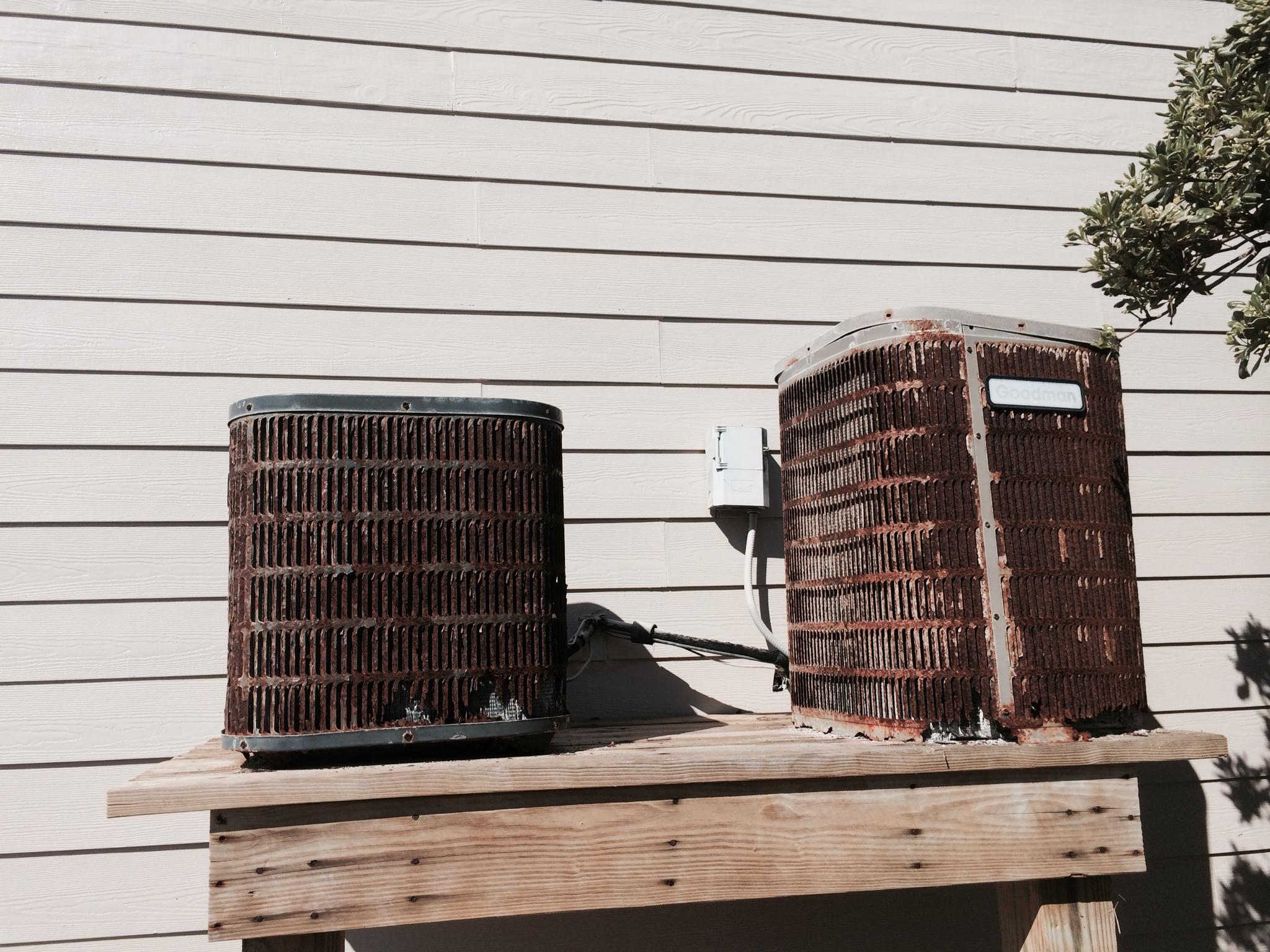 Rusty Heat Pump